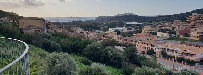 panorama seen from the balcony