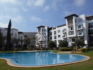 Lovely two bedrooms apartment in Marina Agadir Ref: T2433
