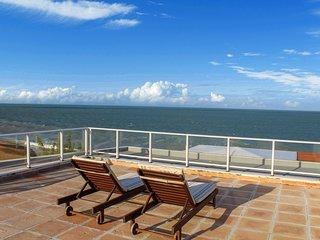 Cobertura com vista para o mar no DUNAS DE COTOVELO NAT-CT.Dunas304/Carmen