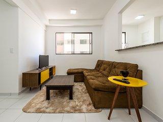 Apartamento completo  em Ponta Negra HIGOR-405C-ECOGARDEN