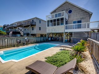 Splash and Go | 1135 ft from the beach | Private Pool, Hot Tub | Nags Head