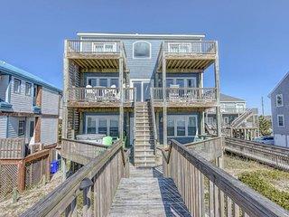 Island Drive 4384 Oceanfront! | Hot Tub, Jacuzzi, Elevator, Internet Discounts A
