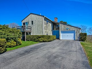 Coastal Biddeford Home w/ Deck and Ocean Views!
