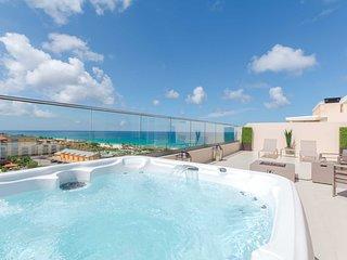 BEACH VIEW - EAGLE BEACH - LEVENT RESORT - Scenic View Penthouse 2BR condo - LV6