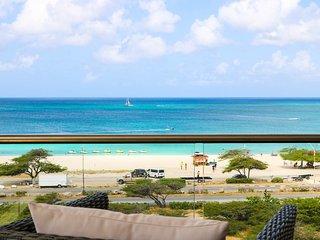BEACH VIEW - EAGLE BEACH - LEVENT RESORT - Royal Beach View 2BR condo - LV509