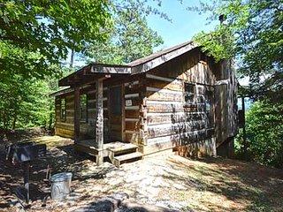 Bearadise Found Log Cabin