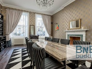 Dublin Street Ultra Luxe Townhouse:  Cinema Room & Private Garden