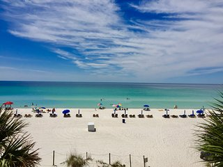 Pet Friendly Beachfront Condo w/Balcony, Gulf View, Pool, & More