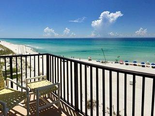 Pet Friendly Beachfront Condo w/Balcony, Beach View, Pool, & More