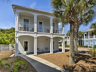 Spacious Miramar Beach Cottage w/Pvt Beach Access!