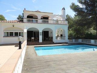 Casa con 5 dormitorios y piscina privada, WiFi gratis