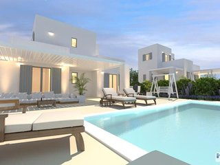 Villa Elitas C, with 3 br and private pool close to Parikia