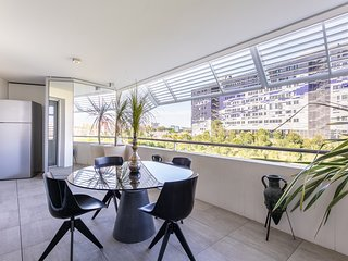 Port Marianne: Superbe T2 avec terrasse et garage