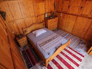 Gemutliches Zimmer mit Meersicht und Terrasse