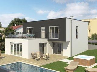 Modern Villa Terrazza, in Dalmatia, with a Pool