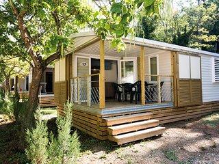 Mobile Home cosy | Piscine, Salle de Fitness, Piscine intérieure et Spa!