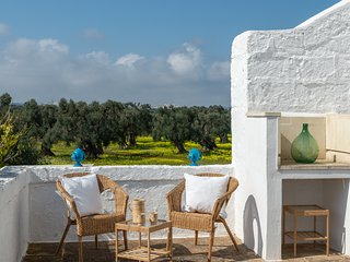 Air Terrace in Masseria with pool