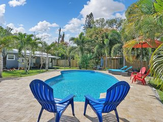 Charming Oasis with a Pool! (#103)