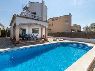 La Barca - Casa con piscina al lado de la playa.
