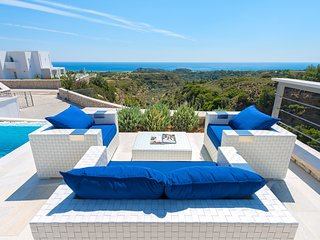 Afantou Villa Sleeps 8 with Pool and Air Con - 5792409