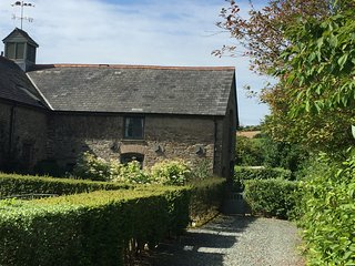 A grade 2 listed barn conversion near to Kingsbridge in the south hams