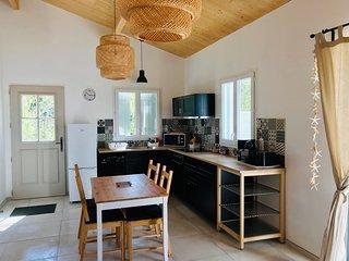 Boinot Lodge : Maison neuve au calme