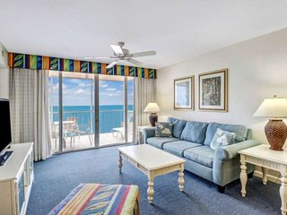 Gorgeous 6th Floor Sunsets, Direct Gulf View, Beach Gear, Heated Pool, Free Park