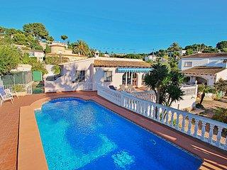 El Molino - well-furnished holiday villa in Benissa