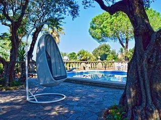 Villa al centro di Roma con piscina