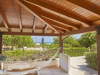 CDG031 Villa 50 meters from the beach of Castellammare del Golfo.