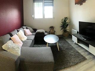 Appartement 65m2 tout confort,  dans propriete privee, 2 chambres,2 wc
