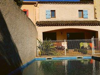 Maison avec clim WiFi et piscine privee proche Marseillan