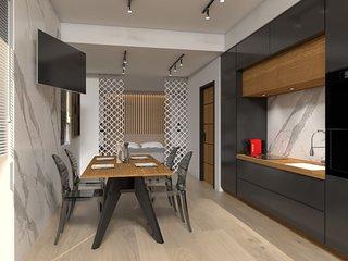 Kolonaki 8 Design Suites & Lofts |Designer's Suite with Lykavitos view in Athens