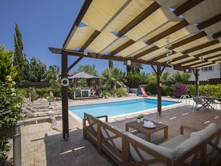 You and Your Family will Love this 5 Star Villa with Private Pool in Ayia Napa