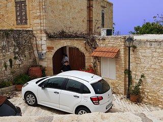 Villa Mariana with small car and Airport Transfer