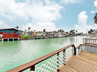 Waterfront Home w/Expansive Deck, Channel Access & 2 Pools - 5 Miles to Beach