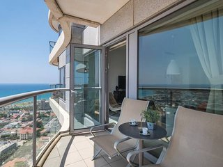TRUST INN - Neve Tsedek Tower Amazing sea view Balcony & Parking