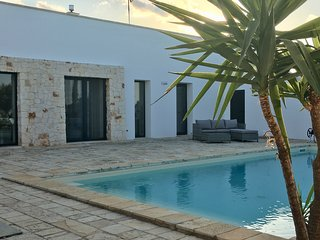 Beautiful contemporary Villa situated in a private gated olive grove