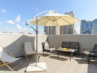 Luxury Duplex Penthouse - Parking/Terrace City Center TLV