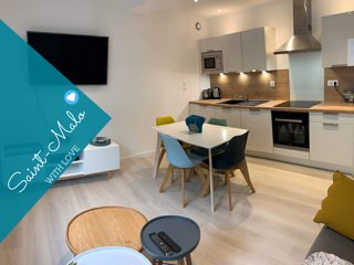 Saint-Malo With Love - Appartement cosy 39 m2