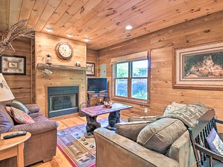 Riverfront Hayesville House w/ Spacious Deck!