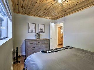 Private+Modern Tahoe City Cabin w/ Hot Tub & Deck!