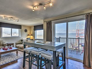 NEW! Waterfront Condo on Pier in Downtown Astoria!