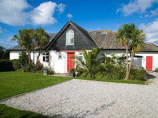 The Red House close to Harlyn Bay