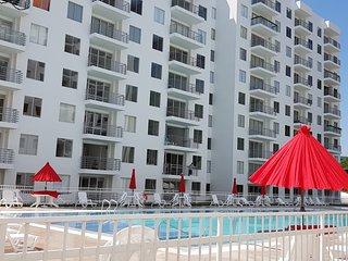 Hermoso apartamento vacacional con aire acondicionado