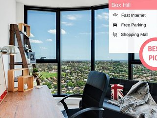 Designer Home With View | 2 BED in Box Hill VBH850