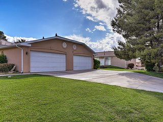 St. George Townhome w/Patio - Near Natl Parks