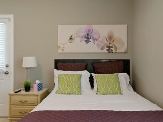 Master Suite With Private Entrance