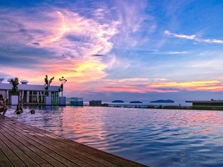 Kota Kinabalu/7-10person/infinity pool(0723)