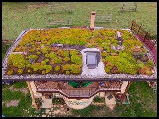 Strawbale cottage 'Popasul Verde'